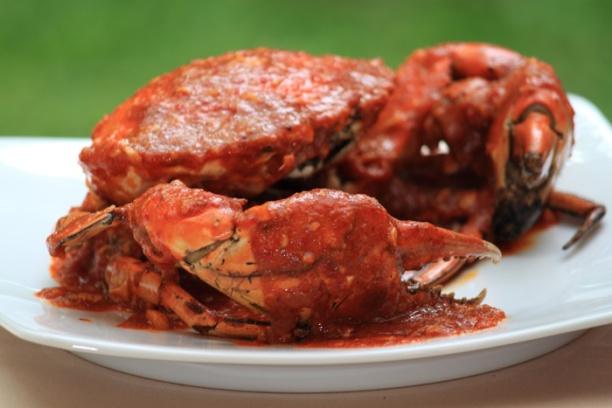 Kepiting Merah